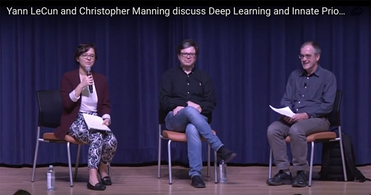 AI領域的蝙蝠俠大戰超人:LeCun與Manning如何看待神經網絡中的結構設計