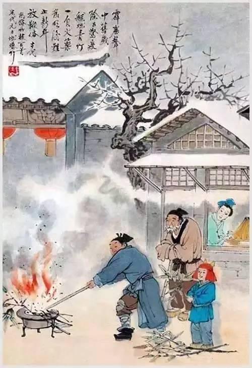 中华文明源远流长,历史文化风俗更是有许多年的历史.图片